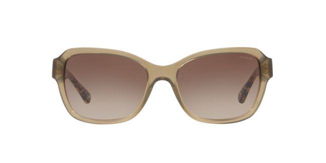 559c69e21028 ... low price coach green brown gradient hc8232 56 l1010 sunglasses target  optical 896a3 89a49