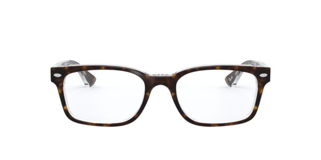 10b2f3d85ac Ray-Ban Yellow Tortoise RX5286 Womens Prescription Eyeglasses ...