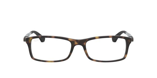 f67118616056 Ray-Ban Tortoise RX7017 Mens Eyeglasses | TargetOptical.com