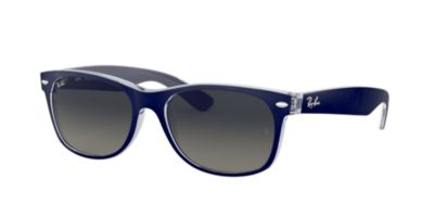 Ray-Ban Blue Clear RB2132 52 New Wayfarer