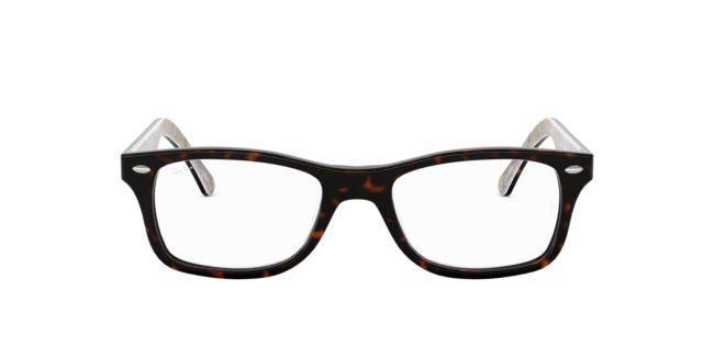 950cf873564 Ray-Ban Brown Green RX5228 Eyeglasses
