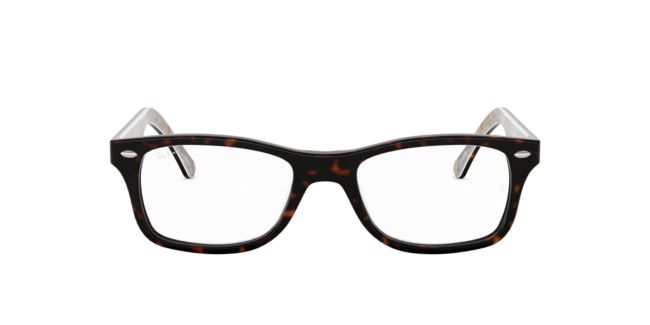 b23697566de4 Ray-Ban Brown Green RX5228 Eyeglasses