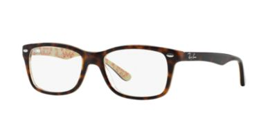 Ray-Ban Tortoise Brown RX5228 Womens Prescription Eyeglasses