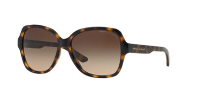 Armani Exchange Brown Tortoise Brown Gradient AX4029S 57