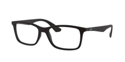 Ray-Ban RX7047 Black Mens Prescription Eyeglasses