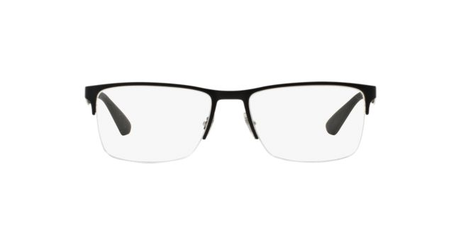 e347477778 Ray-Ban Black RX6335 Eyeglasses