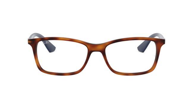 f40f7a4c492 Ray-Ban Tortoise Matte RX7047 Eyeglasses