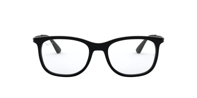 45b8c703c2 Ray-Ban Black Shiney RX7078 Eyeglasses