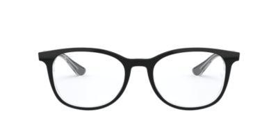 e8ea5daba566 Ray-Ban RX5356 Black Clear Eyeglasses