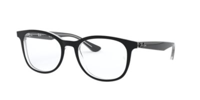 Ray-Ban RX5356 Black Clear Eyeglasses