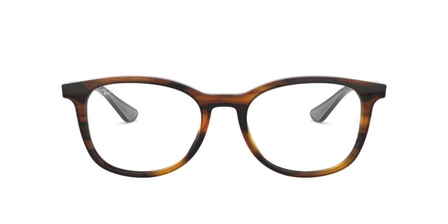 Ray-Ban RX5356 Tortoise Grey Eyeglasses | Target Optical