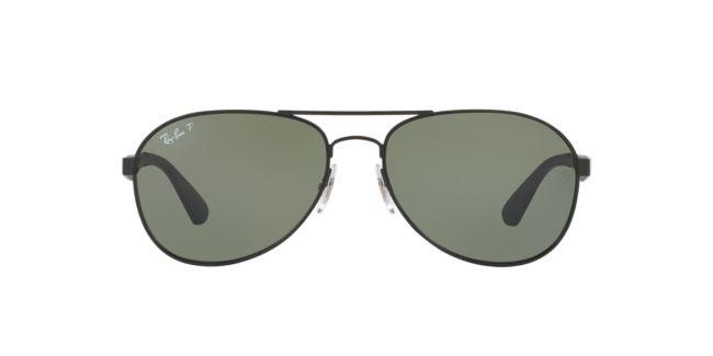 Ray-Ban Black Matte RB3549 58 Sunglasses  efda33c1ba