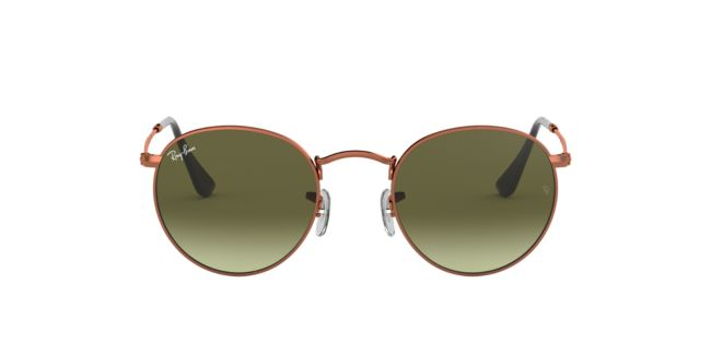 15a25b9446f6c Ray-Ban Light Bronze RB3447 50 ROUND METAL Sunglasses