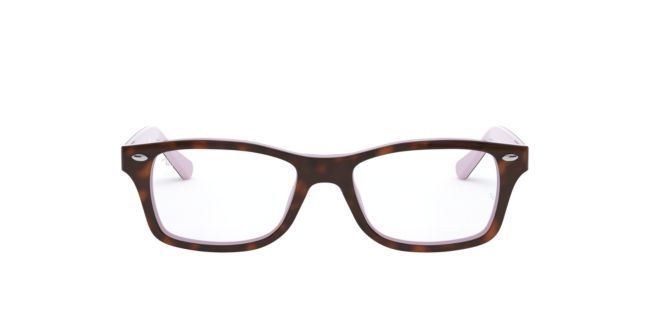be5e6cf0536434 Ray-Ban Jr Tortoise Purple RY1531 Eyeglasses