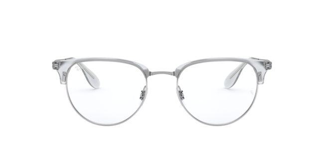 0d0bcde341d Ray-Ban Silver Black RX6396 Eyeglasses