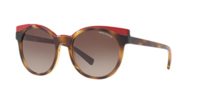 Armani Exchange AX4064S 53 Trt Red
