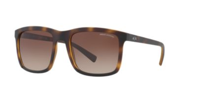 Armani Exchange Tortoise Matte Brown Gradient AX4067S 55