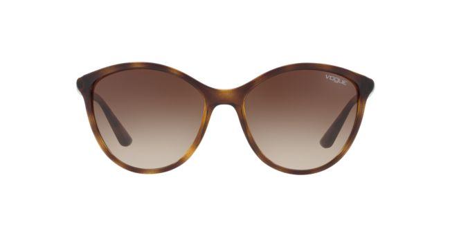 85dd646817 Vogue Tortoise Brown Gradient VO5165S 55 Sunglasses