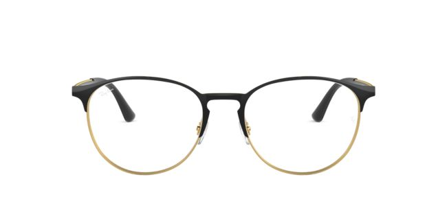 ee878adf819 Ray-Ban Black Gold RX6375 Eyeglasses