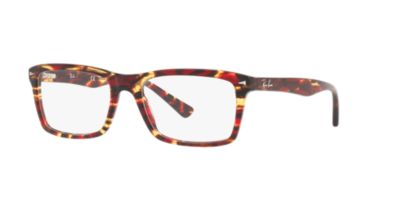 Ray-Ban Red Brown RX5287