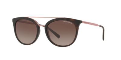 Armani Exchange Tortoise Matte Brown Gradient AX4068S 55