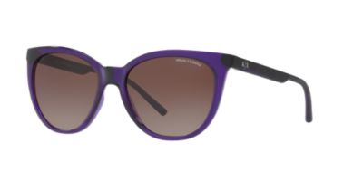 Armani Exchange Purple Brown Gradient AX4072S 55