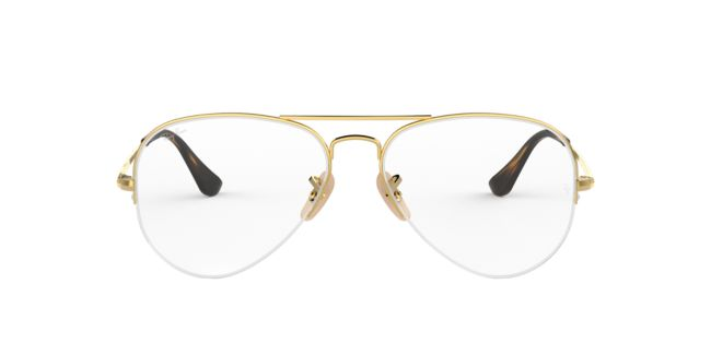 e40d654995 Ray-Ban Gold RX6589 Eyeglasses