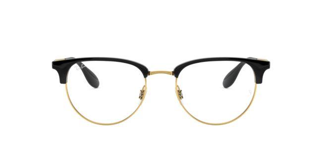 e776db7702a Ray-Ban Black Gold RX6396 Eyeglasses
