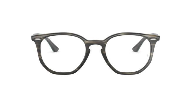 1ee00889263 RayBan Tortoise Grey 0RX7151 Eyeglasses