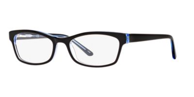A New Day A32038 Black Blue Eyeglasses