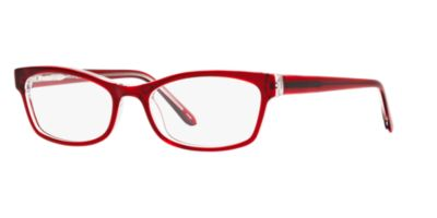 A New Day A32038 Red Clear Eyeglasses