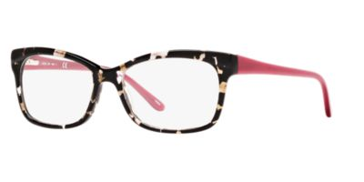 A New Day A32048 Black Yellow Eyeglasses
