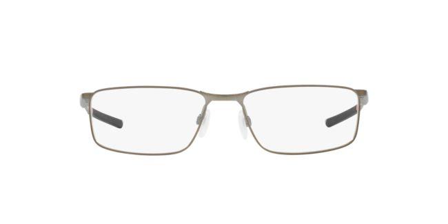 5359105526 Oakley Silver Clear OX3217 Socket 5.0 Eyeglasses