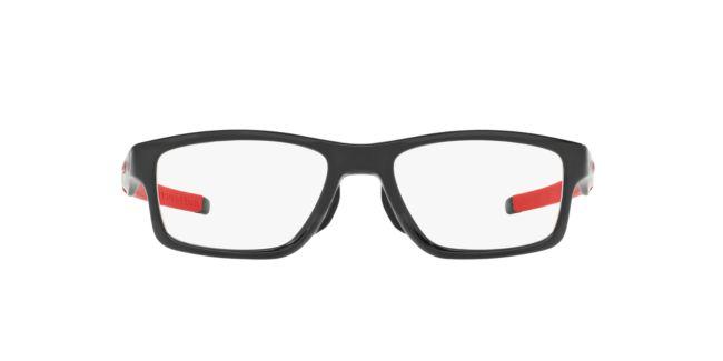eb9be89f0e Oakley Black Shiny OX8090 CROSSLINK MNP Eyeglasses