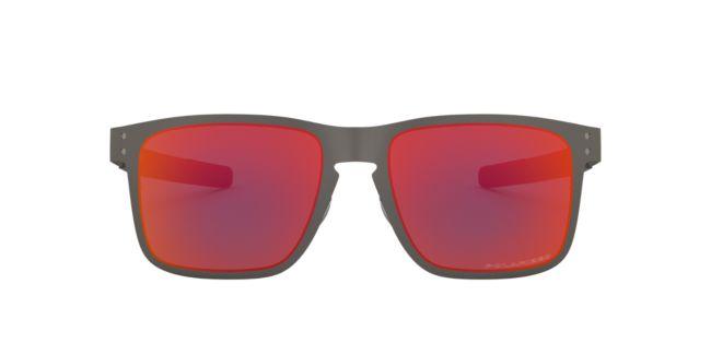 c2505afaac Oakley Gunmetail Orange Mirror Polarized OO4123 55 Holbrook Metal ...