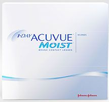 1-DAY ACUVUE® MOIST, 90 pack $79.99