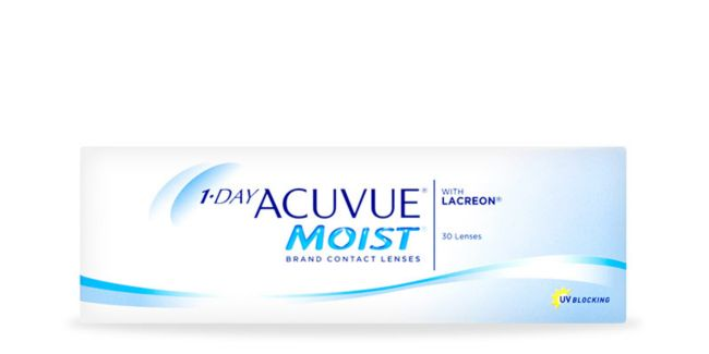 64b9ef1c65 1-day acuvue® moist multifocal - 30 pack. Best deal. Image 1