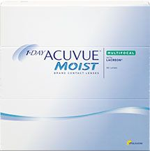 1-DAY ACUVUE® MOIST MULTIFOCAL - 90 pack $99.99