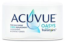 ACUVUE OASYS® with Transitions™ $54.99