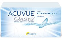 ACUVUE OASYS® with HYDRACLEAR® PLUS Technology, 24 pack $144.99