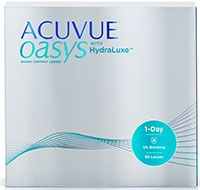 ACUVUE OASYS® 1-Day with HydraLuxe™ Technology, 90 pack $96.99