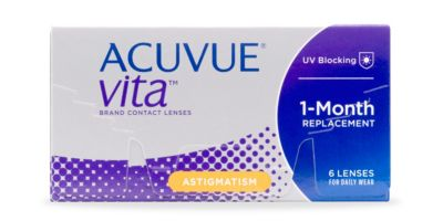ACUVUE® VITA for ASTIGMATISM, 6 pack $69.99