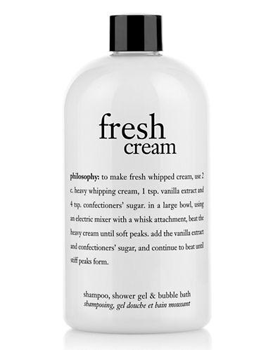 Philosophy fresh cream shampoo shower gel and bubble bath 86837055