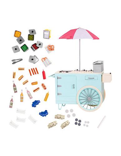 Our Generation 60-Piece Retro Hot Dog Cart Set 90251479