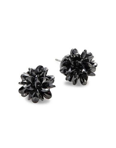Kate Spade New York Crystal Rock Candy Stud Earrings Black