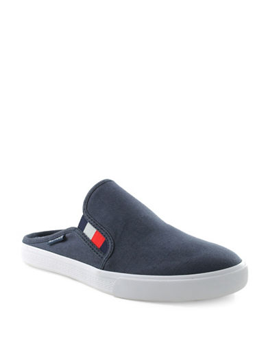 16c169999ef2b Tommy Hilfiger Frank4-A Backless Sneakers-Navy
