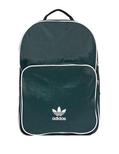 e996319cb494 Adidas Originals Adidas Classic Logo Backpack-Green