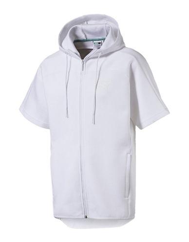 Puma Pace Trend Short-Sleeve Hoodie 90092077