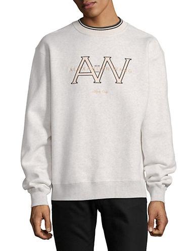 Alexander Wang Monogram Crew Neck Sweater 90189401