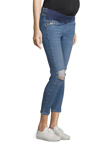 Topshop MATERNITY MOTO Ripped Jamie Jeans 30-Inch Leg 90179788
